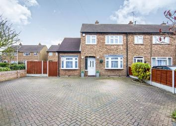 Thumbnail 4 bedroom end terrace house for sale in Margaret Close, Heath Park, Romford