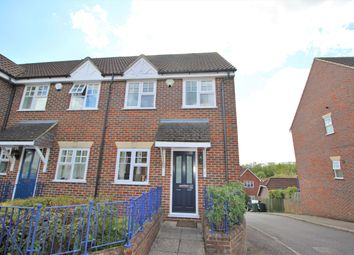 Thumbnail 4 bed end terrace house for sale in Weyview Close, Guildford
