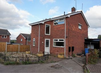 Thumbnail 3 bed detached house for sale in Santon Close, Mansfield