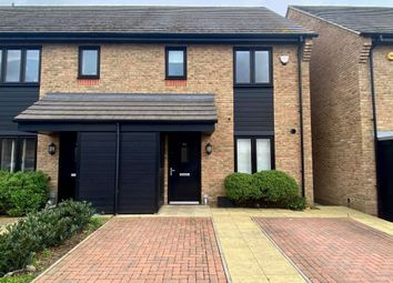 Thumbnail 3 bed property to rent in Egbert Close, Hornchurch