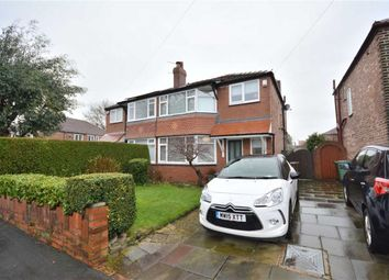 Thumbnail 3 bed semi-detached house for sale in Oaklands Drive, Prestwich Manchester