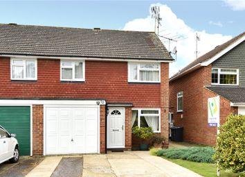 Thumbnail 3 bedroom semi-detached house for sale in Weybridge Mead, Yateley, Hampshire