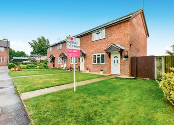 Thumbnail 2 bedroom end terrace house for sale in Elliston Close, Elmswell, Bury St. Edmunds