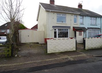 Thumbnail 3 bed semi-detached house for sale in Pethybridge Road, Cardiff