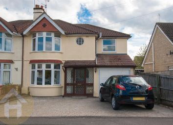 Thumbnail 4 bed semi-detached house for sale in Dores Road, Swindon