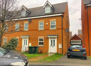 Thumbnail 3 bed end terrace house for sale in St David Drive, Wednesbury, West Midlands