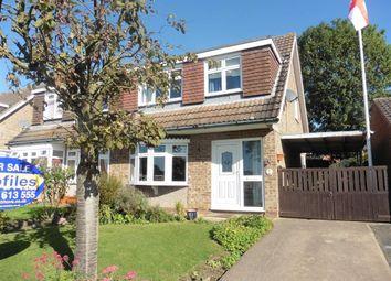 Thumbnail 3 bedroom semi-detached house to rent in Meadow Road, Barlestone, Nuneaton