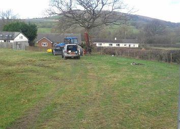 Thumbnail Land for sale in Llandegly, Llandrindod Wells