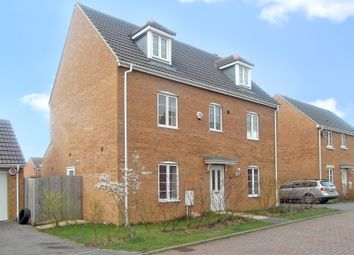 Thumbnail 5 bed detached house to rent in Caspian Gardens, Westbury