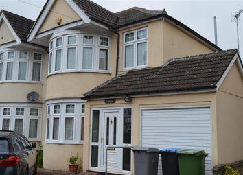 Thumbnail 3 bed semi-detached house to rent in Woodgrange Avenue, Kenton, Harrow