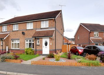 Thumbnail 3 bedroom semi-detached house for sale in Bestwick Close, Ilkeston