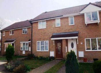 Thumbnail 3 bedroom terraced house to rent in Alder Close, Eaton Ford, St. Neots