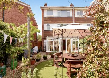 Thumbnail 4 bedroom end terrace house for sale in Oswald Close, Fetcham, Leatherhead