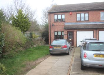 Thumbnail 3 bed semi-detached house for sale in The Blackthorns, Sleaford, Lincolnshire