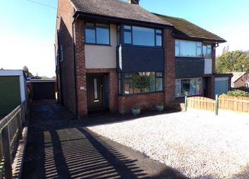 Thumbnail 3 bed semi-detached house for sale in Cambridge Drive, Woodley, Stockport, Cheshire