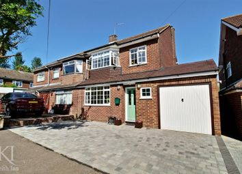 Thumbnail 3 bed semi-detached house for sale in Highfield Road, Cheshunt, Waltham Cross