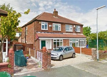 Thumbnail 3 bed semi-detached house for sale in Clovelly Road, Chorlton Cum Hardy, Manchester