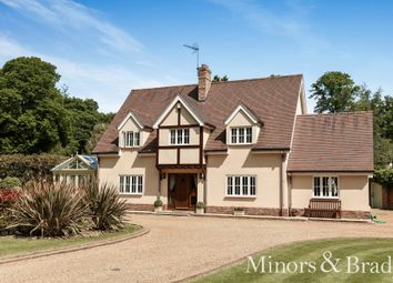 Thumbnail 4 bed detached house for sale in The Avenue, Wroxham, Norwich