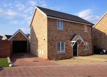 Thumbnail 3 bed detached house for sale in Keeley Croft, New Cardington, Bedford