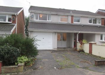 Thumbnail 3 bed semi-detached house for sale in Pinecroft Avenue, Cwmbach, Aberdare