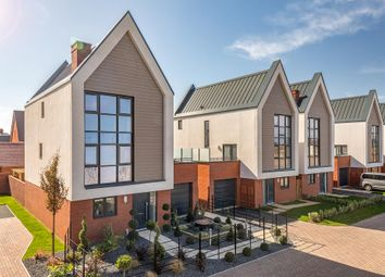 "Thumbnail 4 bed detached house for sale in ""Leighfield"" at Gimson Crescent, Tadpole Garden Village, Swindon"