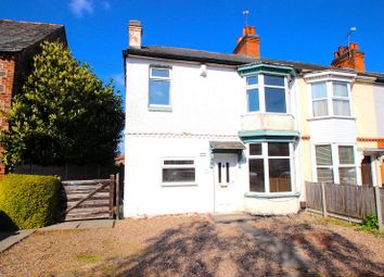 Thumbnail 3 bed end terrace house for sale in Station Road, Ratby, Leicester