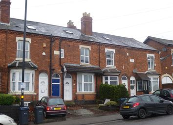 Thumbnail 1 bed terraced house to rent in Metchley Lane, Harborne, Birmingham