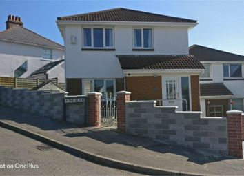 Thumbnail 3 bed detached house to rent in The Glade, West Cross, Swansea