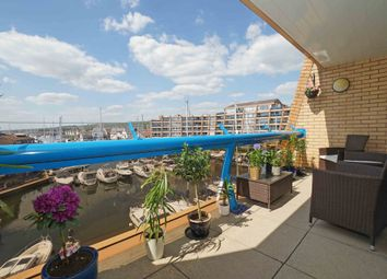 Thumbnail 3 bed flat for sale in Oyster Quay, Port Solent, Portsmouth