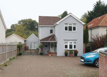 Thumbnail 4 bed detached house for sale in Longwater Lane, New Costessey, Norwich