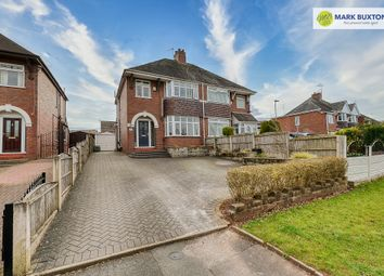 Thumbnail 3 bed semi-detached house for sale in Tittensor Road, Clayton, Newcastle Under Lyme