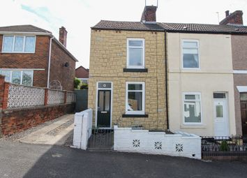 Thumbnail 2 bed end terrace house for sale in William Street North, Old Whittington, Chesterfield