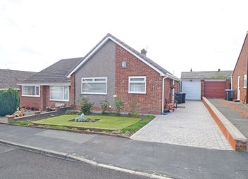 Thumbnail 2 bed semi-detached bungalow for sale in Gloucestershire Drive, Belmont, Durham