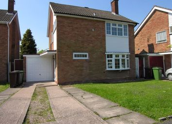 Thumbnail 3 bed detached house to rent in Camberley Drive, Penn, Wolverhampton