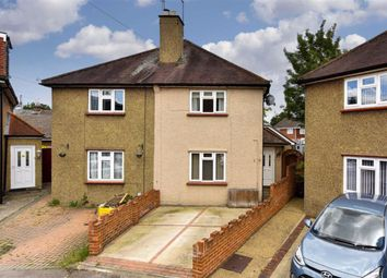 Thumbnail 3 bed semi-detached house for sale in Linden Place, Epsom, Surrey