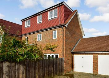 Thumbnail 5 bed semi-detached house for sale in Hazen Road, Kings Hill, West Malling, Kent