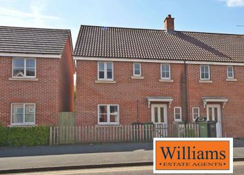 Thumbnail 3 bed semi-detached house for sale in Bullingham Lane, Hereford
