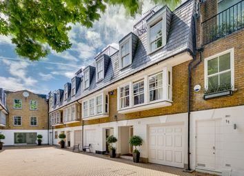 Thumbnail 3 bed mews house for sale in St. Catherine's Mews, London