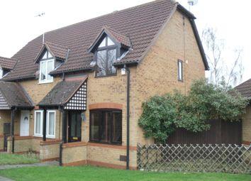 Thumbnail 2 bed end terrace house to rent in Calverleigh Crescent, Furzton, Milton Keynes