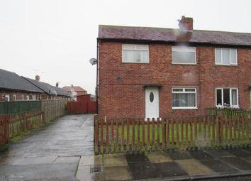 Thumbnail 2 bed semi-detached house for sale in Elizabeth Crescent, Dudley, Cramlington