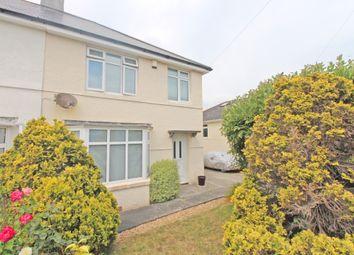Thumbnail 3 bed semi-detached house for sale in Peeks Avenue, Plymstock, Plymouth, Devon