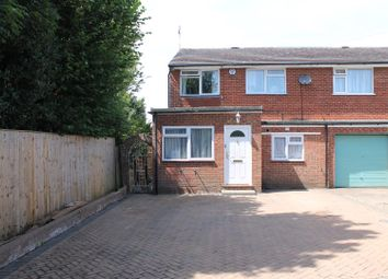 Thumbnail 4 bed semi-detached house for sale in Snowdrop Way, Widmer End, High Wycombe