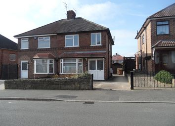 Thumbnail 3 bed semi-detached house to rent in Buxton Road, Chaddesden, Derby