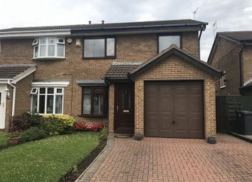 Thumbnail 3 bed semi-detached house for sale in Dykelands Way, South Shields