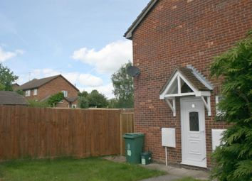 Thumbnail 1 bed end terrace house to rent in Field Close, Aylesbury