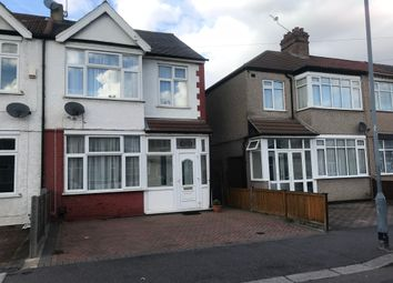 Thumbnail 3 bed end terrace house to rent in Eton Road, Ilford