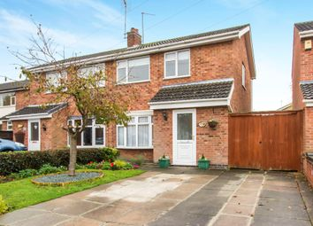Thumbnail 3 bedroom semi-detached house for sale in Wheatlands Drive, Countesthorpe, Leicester