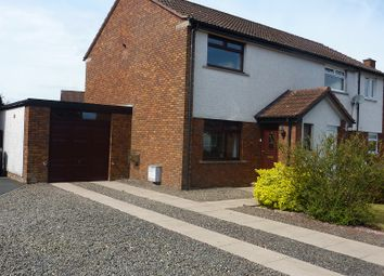 Thumbnail 2 bed semi-detached house for sale in Mckerrow Drive, Heathhall, Dumfries, Dumfries And Galloway.