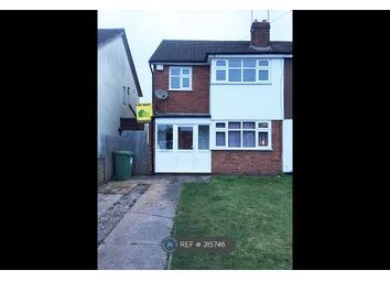 Thumbnail 3 bedroom semi-detached house to rent in Nottingham Drive, Willenhall