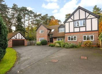 Thumbnail 5 bed detached house for sale in Bramblewood Place, Fleet